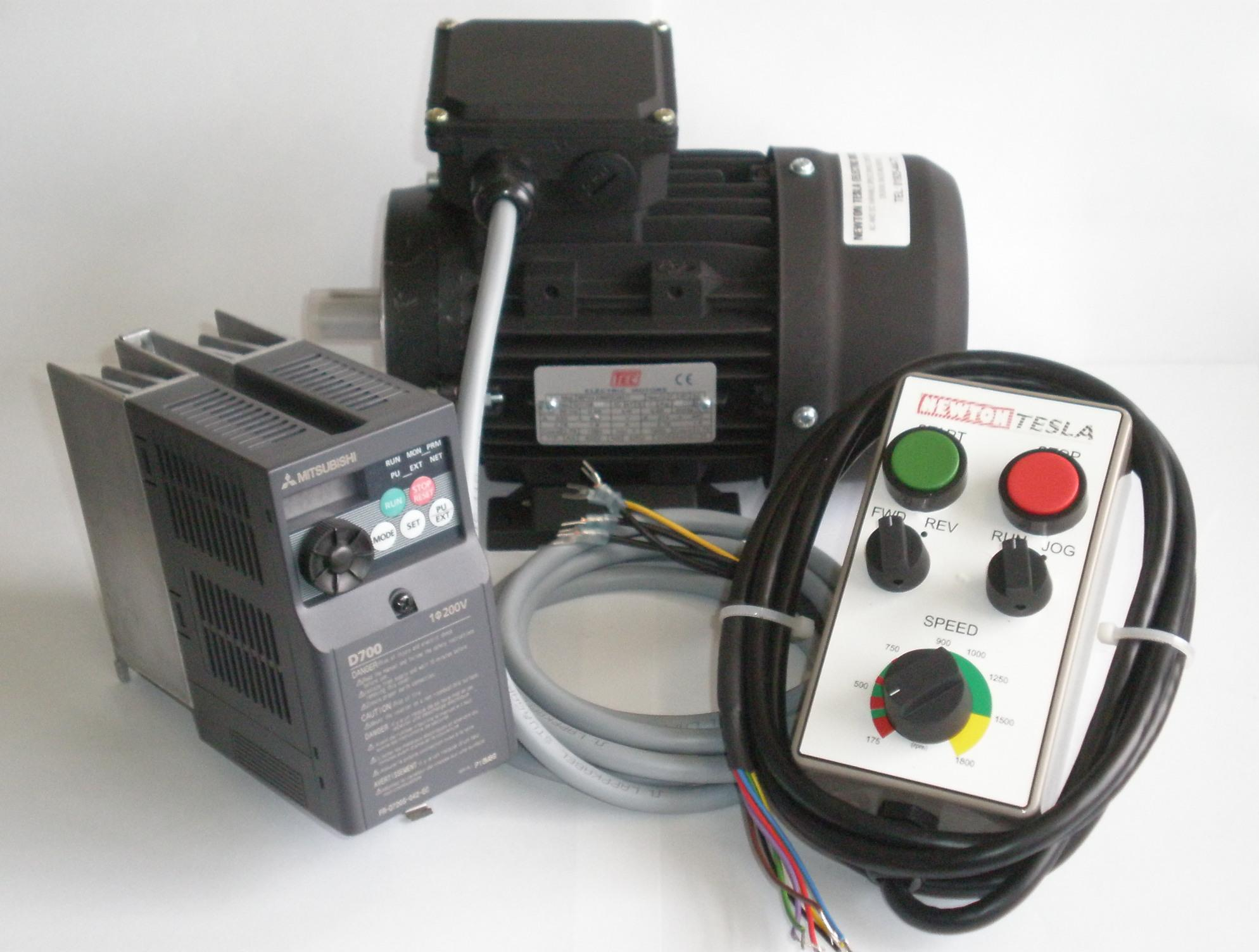 1 3hp Inverter Motor Package With Remote