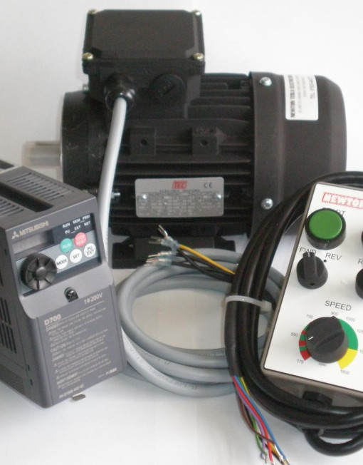 3/4hp  Inverter & Motor package with Remote.