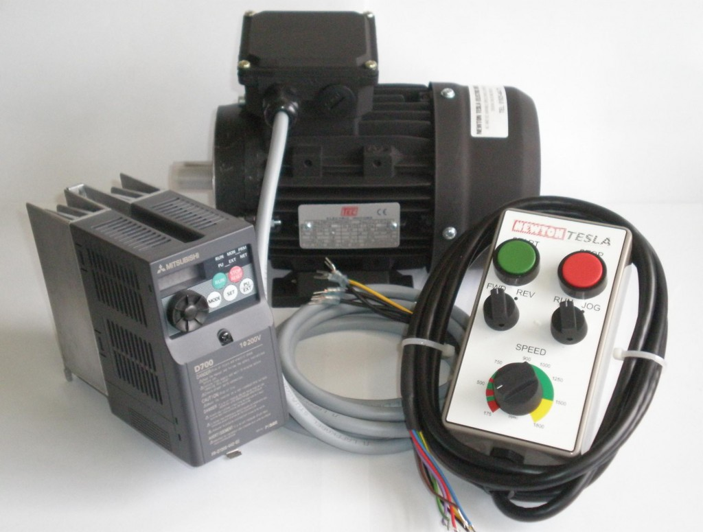 1.5hp  Inverter & Motor package with Remote.