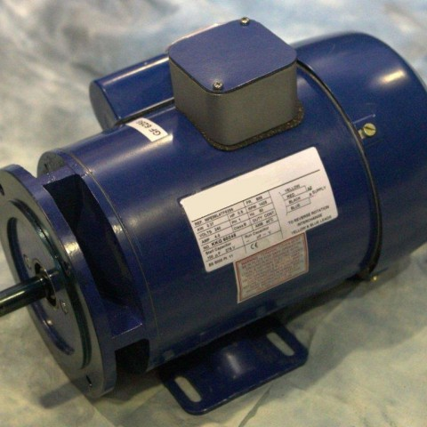 0.55kW 240V Single Phase, 2-pole, Totally-Enclosed-Fan-Cooled