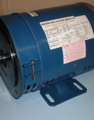 0.37kW 240V Single Phase, 4-pole, Drip-Proof, Foot Mount