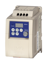 EDX-040-21-E, iDrive 0.4kW Inverter with built in RFI filter