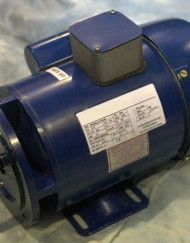0.25kW  240V Single Phase, 2-pole, Totally-Enclosed-Fan-Cooled, 2800rpm